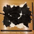 カウラグ ハラコ 子牛毛皮 牛革 マット インテリア ミッドセンチュリーGenuine Cowhide Skin Leather Rug  WILD HEARTS Leather&Silver (ID 9cr3907b35)