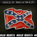 在庫処分!バックル/Belt Buckle/ウエスタン/USA/Confederate Flag/Eagle/Siskyou Buckle (ID mbz7e)