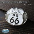 ベルト バックル 取り替え用 合金 シスキュー ルート66 Belt Buckle Western Route66 Siskiyou from USA WILD HEARTS Leathe&Silver (ID mb3855r30)