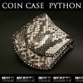 クリックポストのみ送料無料!コインケース 小銭入れ パイソン 牛革 Coin Case Leather Python (ID cc1271r20)