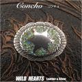 コンチョ ウエスタン インディアンジュエリーConcho Western Indian jewelry WILD HEARTS Leather&Silver (ID cc1303)
