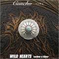 クリックポストのみ送料無料! コンチョ ターコイズ 合金 Concho Metal Turquoise (ID cc2005)