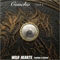 クリックポストのみ送料無料! コンチョ 合金 トライバル concho metal tribal (ID con1667)