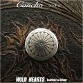 クリックポストのみ送料無料!コンチョ/ウエスタンコンチョ/インディアンスタイル/合金/Concho Native American Style Metal/WILD HEARTS Leather&Silver (ID cc2249)