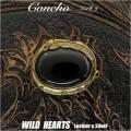 クリックポストのみ送料無料!コンチョ 真鍮 ブラック オニキス フェザー Concho Black Onyx Brass  (ID co2342)