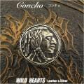 クリックポストのみ送料無料!コンチョ 合金 ネイティブ系インディアン デザイン Concho Metal Native Indian Design  (ID cc2844)