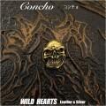 クリックポストのみ送料無料!コンチョ スカル ドクロ 髑髏 真鍮 Skull Concho Brass (ID cc2848)