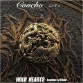 コンチョ ドラゴン/龍  真鍮/銅 Concho Dragon-motif Brass Copper WILD HEARTS Leather&Silver (ID 0224t33)