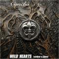 クリックポストのみ送料無料!シルバーコンチョ フレア 百合の紋章  エンブレム シルバー925 Concho Fleur-de-lis Sterling Silver 925 WILD HEARTS Leather&Silver (ID co3772)