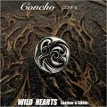 クリックポストのみ送料無料!コンチョ ジャーマンシルバー トライバル 飾りボタン  Concho Tribal-design Metal/German-Silver  WILD HEARTS Leather&Silver (ID cc3787)