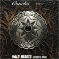 コンチョ メタルコンチョ 合金 ウエスタンコンチョ Concho Metal Concho Western Concho WILD HEARTS Leather&Silver(ID co3919)