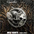 クリックポストのみ送料無料! コンチョ スカル & コブラ スネーク シルバー925 Concho Skull & Cobra/Snake Sterling Silver 925 (ID co2350)