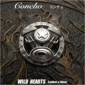コンチョ ハーレー エンジン シルバー925 ネジ式 Concho Harley-Davidson Sterling Silver 925 WILD HEARTS Leather&Silver(ID cc4102)