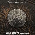 クリックポストのみ送料無料!コンチョ ハーフダラーコイン イーグル コイン Concho Eagle Half Dollar Coin (ID con16t2)