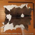 送料無料!カウラグ ハラコ 子牛毛皮 牛革 マット インテリア ミッドセンチュリー 本革 Genuine Cowhide Skin Leather Rug  WILD HEARTS Leather&Silver (ID 1cr4158b35)