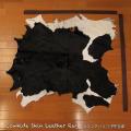 送料無料!カウラグ ハラコ 子牛毛皮 牛革 マット インテリア ミッドセンチュリー 本革 Genuine Cowhide Skin Leather Rug  WILD HEARTS Leather&Silver (ID 11cr4158b35)