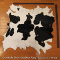 送料無料!カウラグ ハラコ 子牛毛皮 牛革 マット インテリア ミッドセンチュリー 本革 Genuine Cowhide Skin Leather Rug  WILD HEARTS Leather&Silver (ID 13cr4158b35)