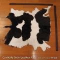 送料無料!カウラグ ハラコ 子牛毛皮 牛革 マット インテリア ミッドセンチュリー 本革 Genuine Cowhide Skin Leather Rug  WILD HEARTS Leather&Silver (ID 15cr4158b35)