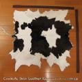 送料無料!カウラグ ハラコ 子牛毛皮 牛革 マット インテリア ミッドセンチュリー 本革 Genuine Cowhide Skin Leather Rug  WILD HEARTS Leather&Silver (ID 3cr4158b35)