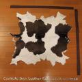 送料無料!カウラグ ハラコ 子牛毛皮 牛革 マット インテリア ミッドセンチュリー 本革 Genuine Cowhide Skin Leather Rug  WILD HEARTS Leather&Silver (ID 5cr4158b35)