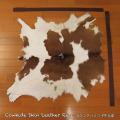 送料無料!カウラグ ハラコ 子牛毛皮 牛革 マット インテリア ミッドセンチュリー 本革 Genuine Cowhide Skin Leather Rug  WILD HEARTS Leather&Silver (ID 7cr4158b35)