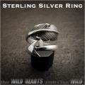 クリックポストのみ送料無料!シルバーリング シルバー925 イーグルフェザー 羽 矢 フリーサイズ ネイティブ  Sterling Silver Ring Eagle Feather&Arrow Native American Style WILD HEARTS (ID sr3704)