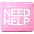 スミス ボートクッション ピンク(NEED HELP ロゴ)