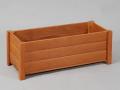 木製プランター匠・チーク色/横幅60cm