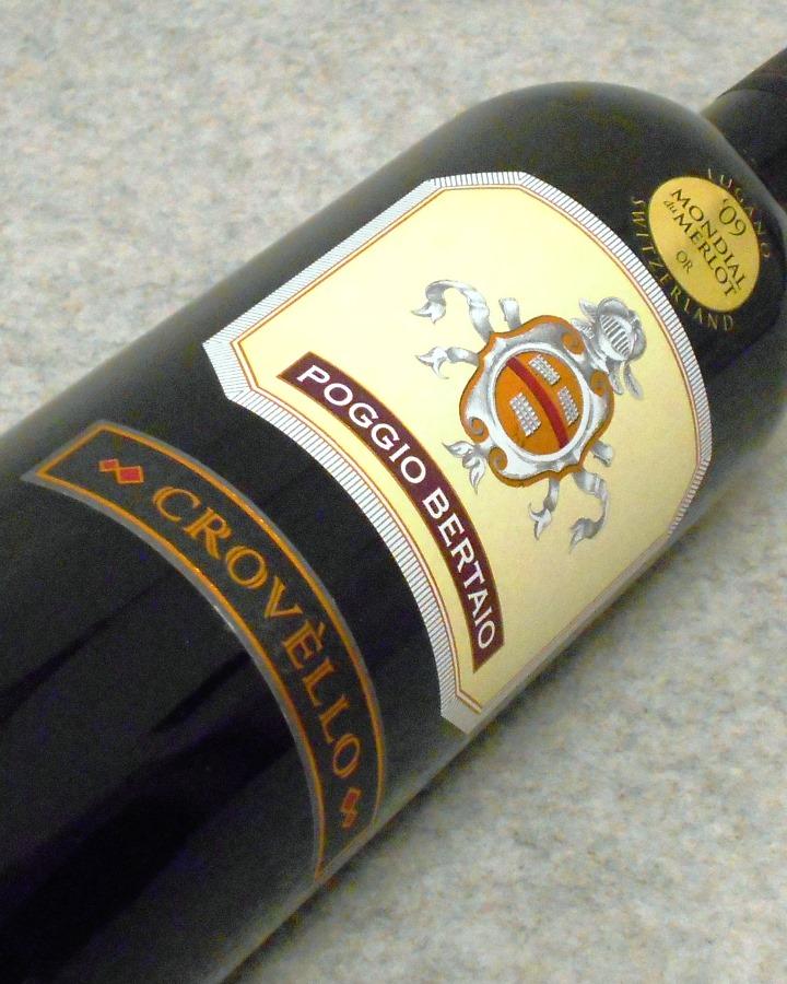 クロヴェッロ2004 ポッジョ・ベルタイオ