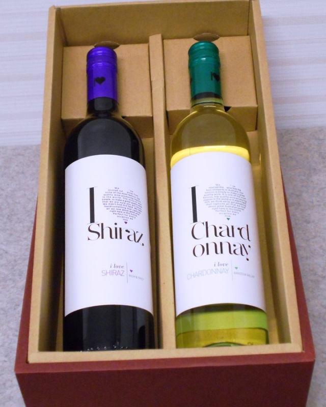 アイ・ラブ・ワイン赤・白2本ギフト・セット