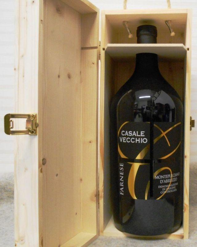 カサーレ ヴェッキオ モンテプルチャーノ ダブルッツォ2015 ダブルマグナムボトル 豪華木箱入り