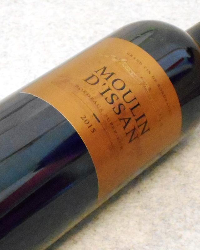 ムーラン ディッサン2015 ボルドーシュペリュール シャトー ディッサン サード ワイン