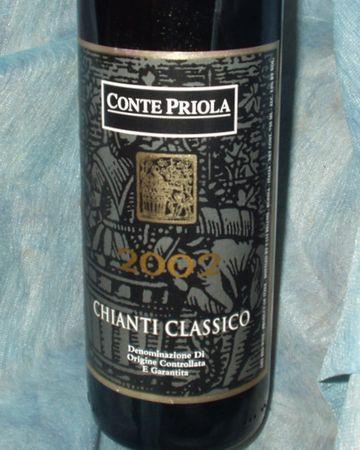 コンテ・プリオーラ・キャンティ・クラシッコ2004