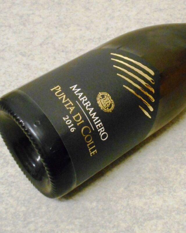 マラミエーロ プンタ ディ コーレ2016 Colline Pescaresi Chardonnay I.G.T.