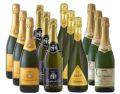 欧州産スパークリングワイン 12本セット (4種/各3本) 送料無料