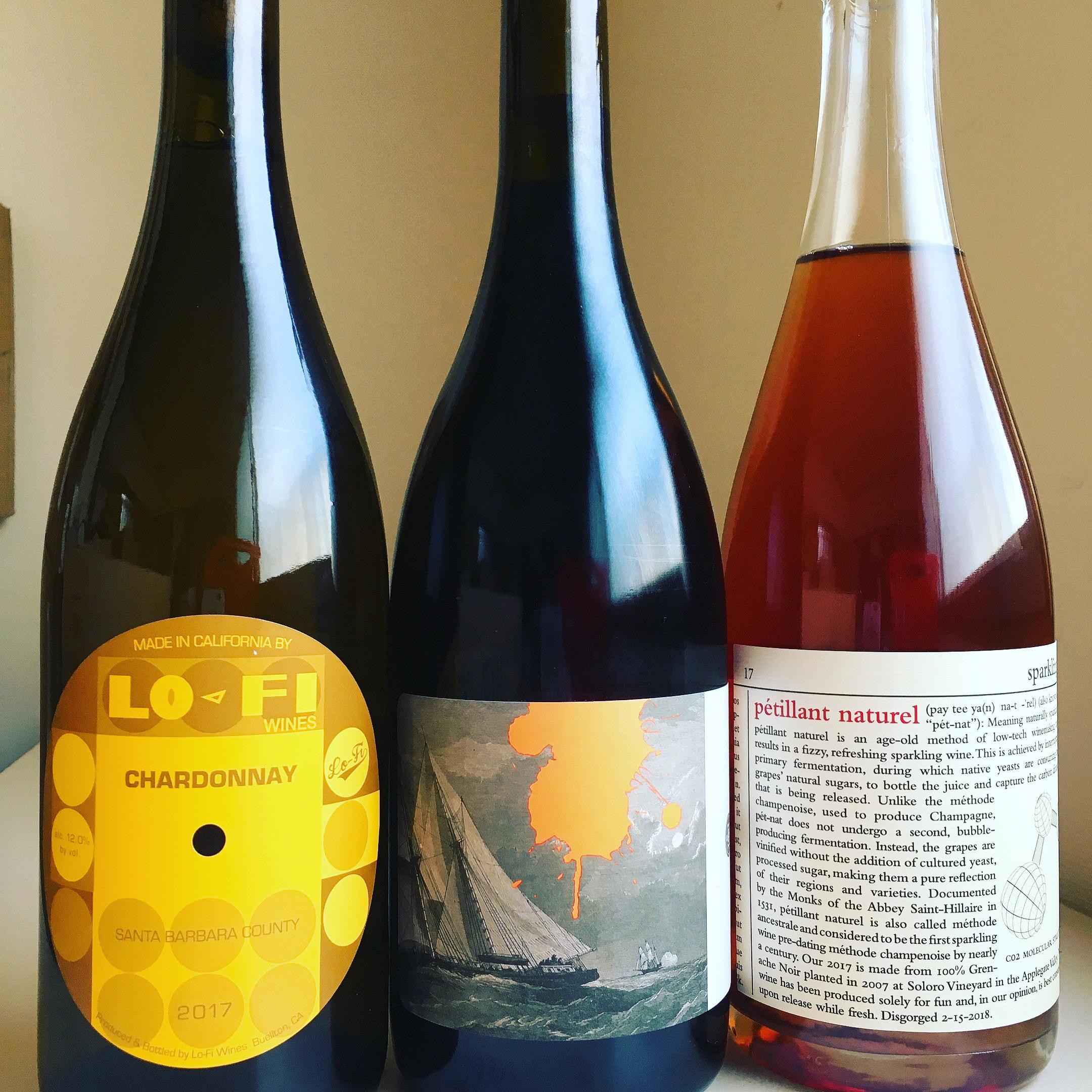 新世代!アメリカナチュラルワイン3本セット