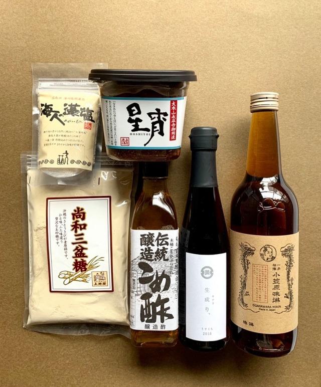 FUJIMARUセレクト/基本の調味料さしすせそ+味醂セット