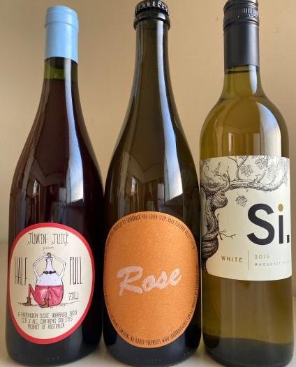 【送料無料】新世代を担う!オーストラリアのお勧めナチュラルワイン3本セット(白、ロゼ、赤)
