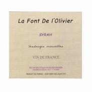 ラ フォン ド ロリヴィエ/シラー ヴァン ド フランス 3000ml バッグインボックス (赤)