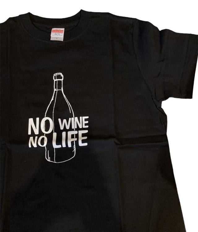 NO WINE , NO LIFE Tシャツ (M)