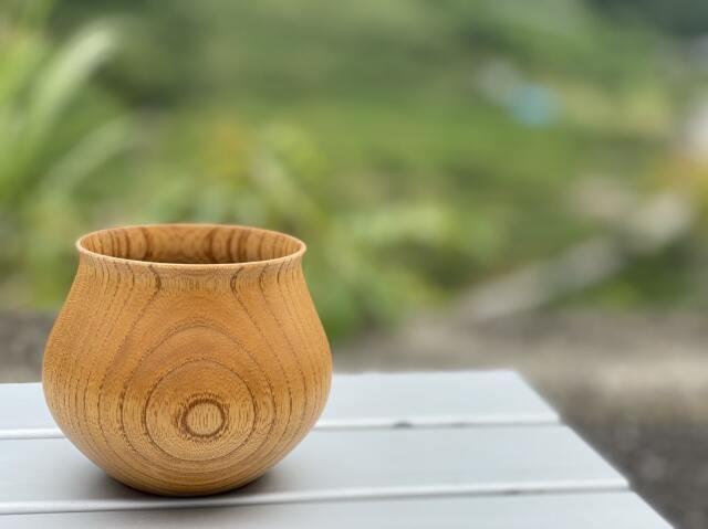安清式 木の器