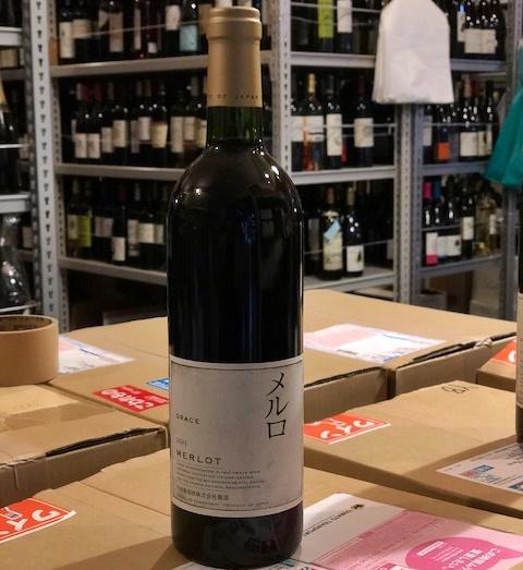 中央葡萄酒/グレイス メルロ 2015年