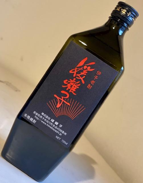 媛囃子(ひめばやし)/米焼酎 媛囃子黒ラベル 40°720ml