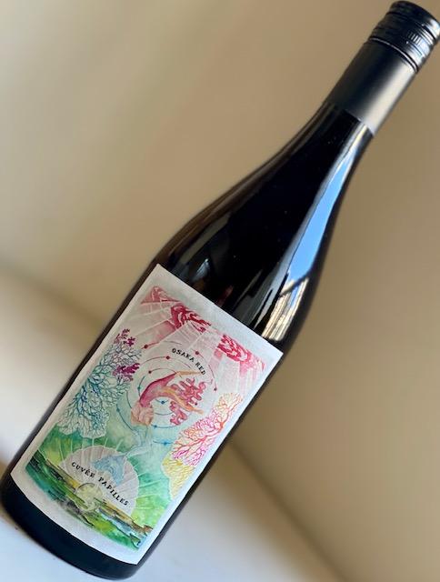 島之内フジマル醸造所/キュベパピーユ 大阪RED 2019年(メルロー、マスカットベイリーA)