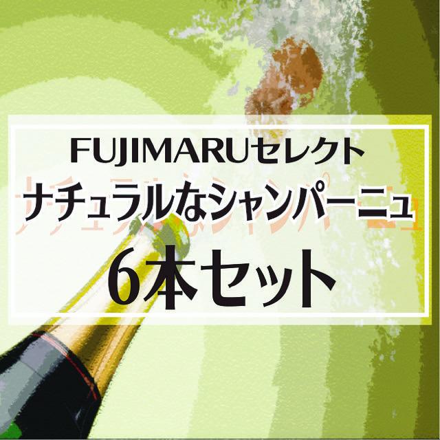 【送料無料】FUJIMARUセレクト!ナチュラルな栽培・醸造によるお勧めシャンパーニュ6本セット