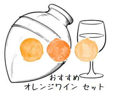 FUJIMARUセレクト!お勧めのオレンジワイン(白ブドウを醸し醗酵させたワイン) 3本セット