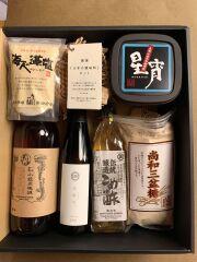 【ギフト好適品】FUJIMARUセレクト/基本の調味料さしすせそ+味醂セット(ギフトBOX入り)