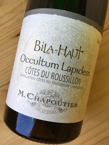 オクルトゥム・ラピデム・ブラン[2015] シャプティエ ビラ・オー