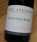 ザ・スプリングス ソーヴィニヨン・ブラン[2015] サザン・バンダリー・ワインズ