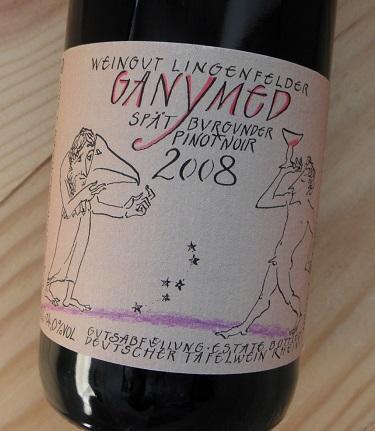 シュペートブルグンダー ガニメット[2008] リンゲンフェルダー